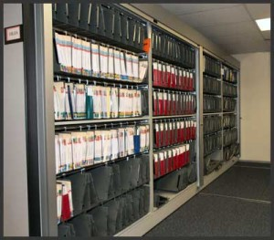 medical handing file record storage