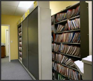 locking medical records storage