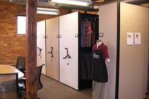 clothing retailer storage