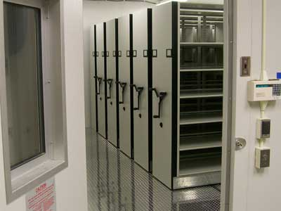Clean Room Storage with insulated aluminum floor